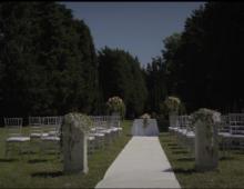 Trailer Wedding Emilie ed Enrico a Santarcangelo / Pesaro.
